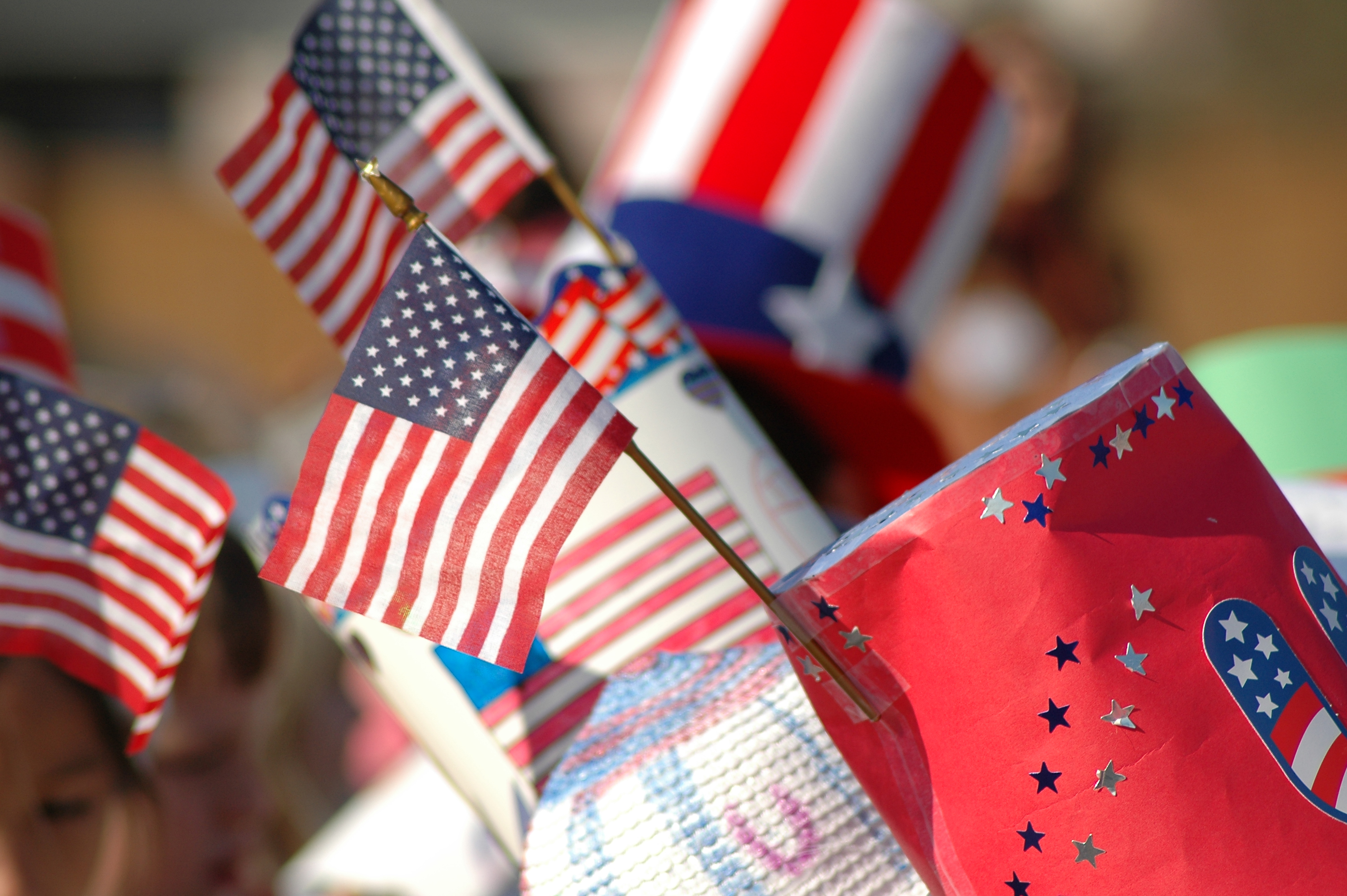 Flag Hats | © Izoneguy | Dreamstime Stock Photos